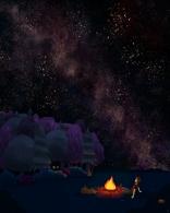 Night sky - numérique
