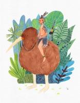 Maori - aquarelle