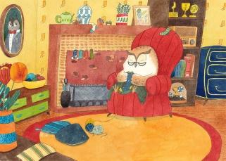 Les Chaussettes de Madame Chouette